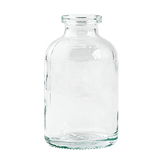 VIALS, OPEN, CLEAR GLASS, 100 mL, 20 mm (Sterile)