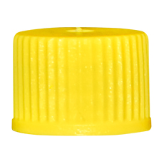 INHALATION VIAL CAP (Yellow, OD 13mm, Non-Sterile)