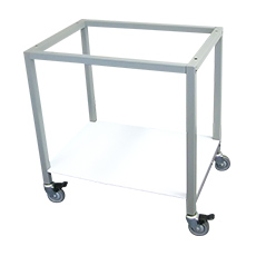BASE STAND w/CASTERS, AIRCLEAN SYSTEMS (4 ft)