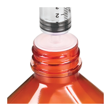ADAPTERS, PRESS-IN BOTTLE, FOR 24 mm BOTTLE (Comar)